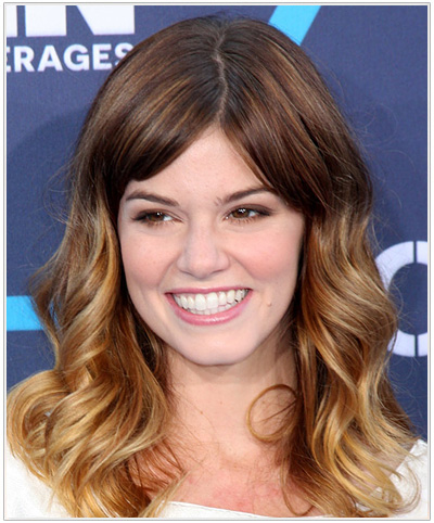 rachel-melvin-wavy-ombre-hairstyle
